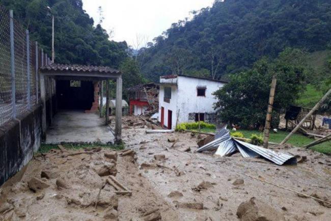 Emergencia por avalancha en Puerto Venus, Antioquia