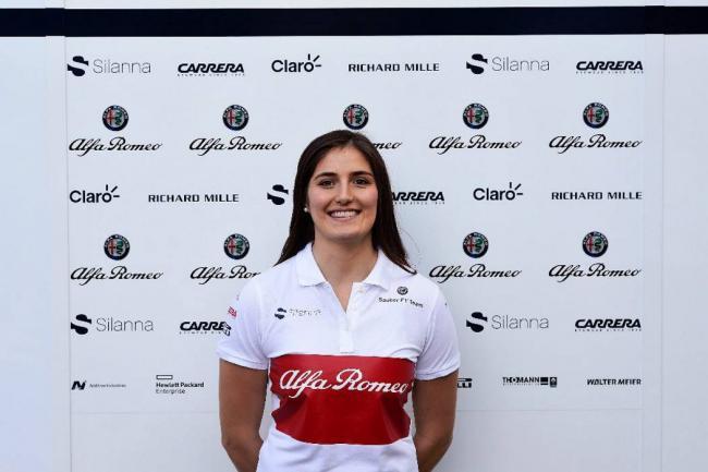 Tatiana Calderón es anunciada como Piloto de Pruebas de Sauber F1