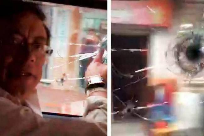 Resultado de imagen para atentado a petro en cucuta