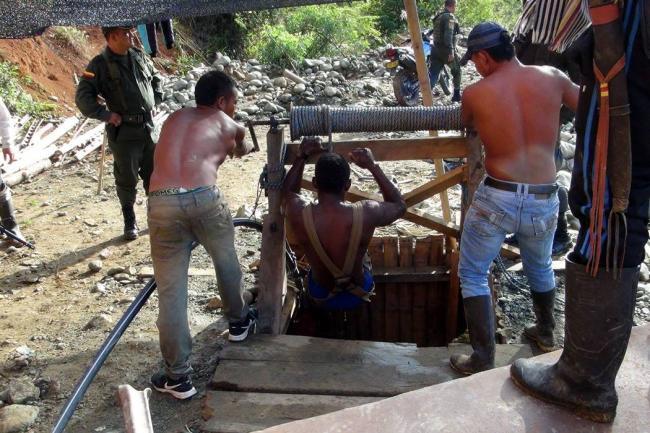 Tragedia por derrumbe en mina del Cauca