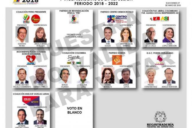 Más de 100.000 colombianos en el exterior votarán para las elecciones presidenciales