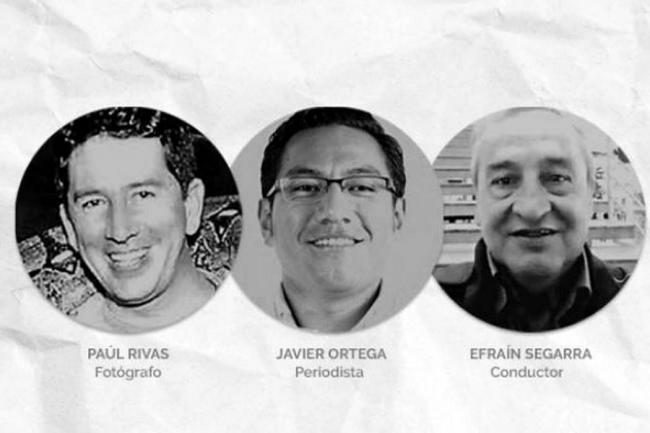 Presidente de Ecuador confirma muerte de periodistas de El Comercio