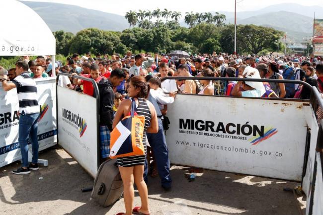 Más de 63 mil venezolanos han realizado el registro migratorio en Colombia