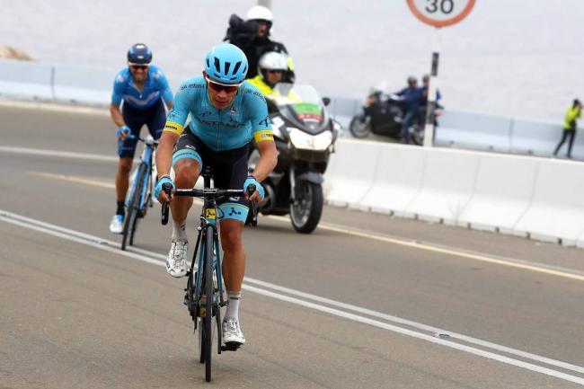Colombiano 'Supermán' López ganó la segunda etapa del Tour de Los Alpes