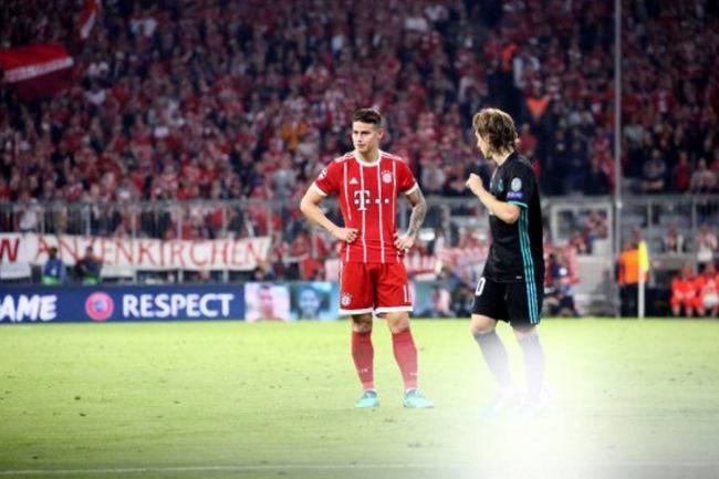 James es duda en Bayern para próximos juegos
