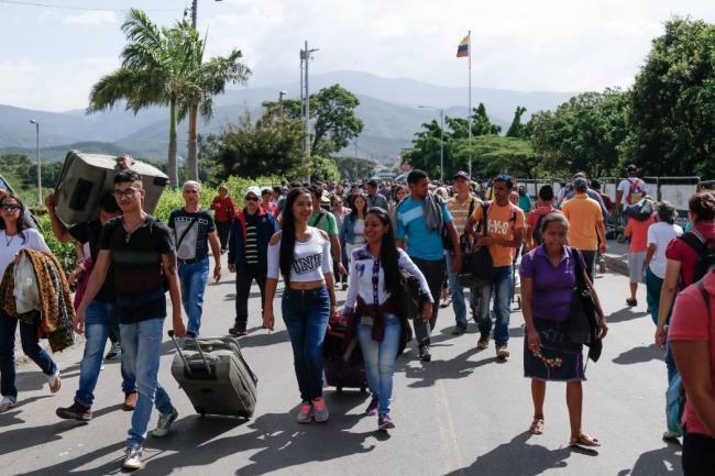 Más de 203.000 venezolanos inscritos en Registro Administrativo de Colombia