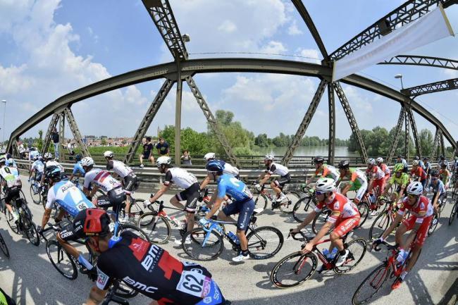Tomada del Twitter del Giro de Italia