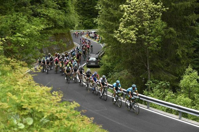 Tomada del Twitter del Giro de Italia/VANGUARDIA LIBERAL