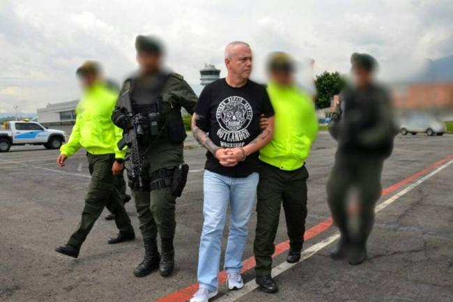 Alias 'Popeye' trasladado a cárcel de Valledupar