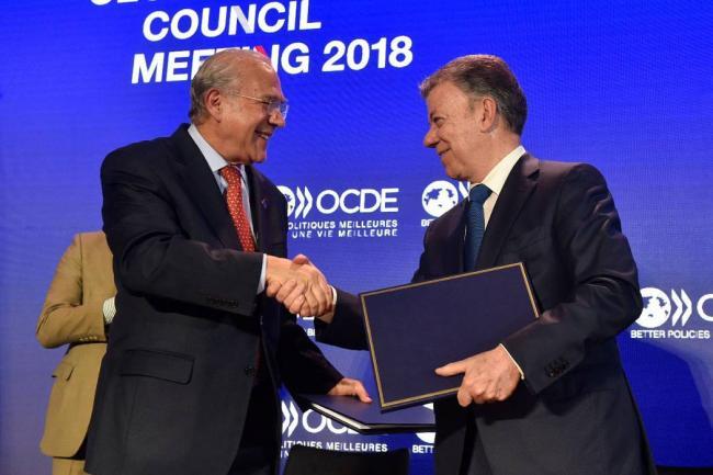 Santos: Colombia no participará en operaciones militares de la OTAN