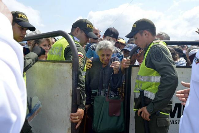 Colombia cerrará la frontera con Venezuela a partir del jueves