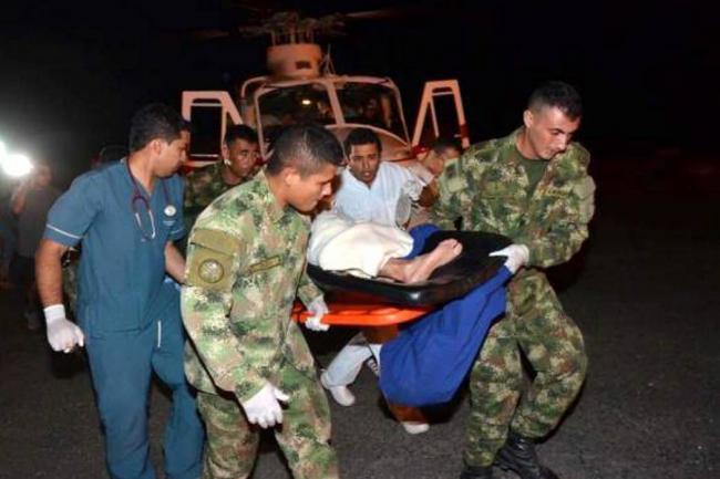 Atentado atribuido al ELN dejó ocho militares heridos en Colombia