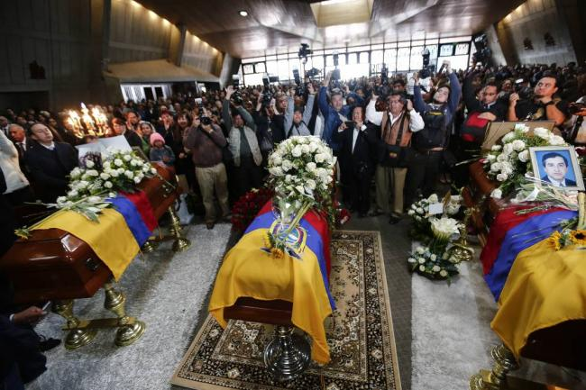 Capturan a cómplice del secuestro de periodistas ecuatorianos