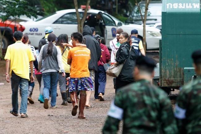 Se reinició el rescate de los chicos de la cueva en Tailandia
