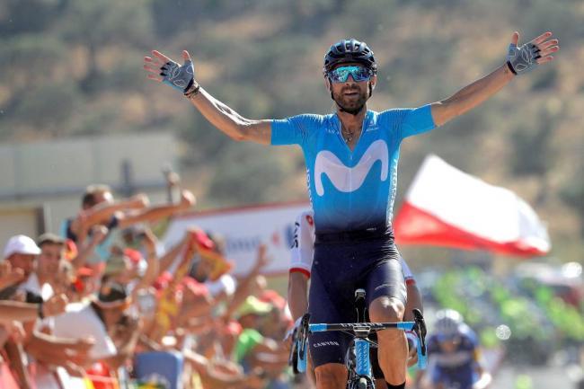 Nairo subió un puesto en la general de la Vuelta a España
