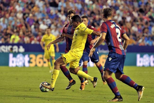 El Villarreal del Carlos Bacca perdió 1-0 ante el Levante por la Liga