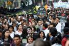 Los estudiantes en varias ciudades del país se manifestaron para pedirle al Gobierno que retire el proyecto de reforma a la educación superior del Congreso.