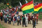 Indígenas llegan a La Paz para solicitar anulación del proyecto caminero