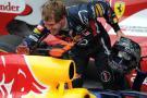 """Vettel, """"emocionado"""" por batir el récord de 'poles'"""