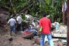 Tres personas murieron sepultadas esta madrugada en Rionegro, Santander
