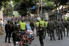Vendedores informales protagonizan disturbios en el centro de Bucaramanga
