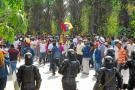 Se frustró marcha en El Centro por falta de un permiso