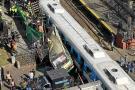 Al menos 250 heridos por un accidente ferroviario en Buenos Aires