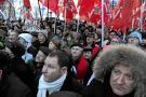 Opositores rusos piden la repetición de los comicios tras el triunfo de Putin
