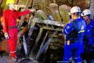 Rescatado uno de los nueve mineros en Angelópolis