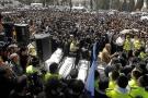 Miles de personas lloran en Jerusalén a los cuatro asesinados en Toulouse