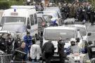 Sospechoso de Toulouse murió por disparos cuando huía por el balcón
