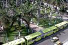 Por segundo día consecutivo se manifiestan socios y conductores de Metrolínea