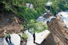Dos vías de Santander presentan cierre total
