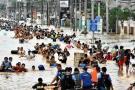 Diez muertos y 1,5 millones de afectados por desbordamiento del Brahmaputra