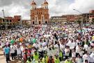 Santa Rosa de Osos aplaudió por la vida y la paz