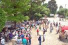 Los cacaoteros y cafeteros santandereanos concentrados en La Lizama aún esperan respuestas y mesa de concertación con el Gobierno Nacional.