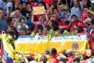 Se inició el cortejo fúnebre de Chávez por calles de Caracas