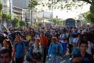 Campesinos del Magdalena Medio acampan en dos sitios de Santander