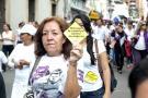 """La marcha por la no violencia contra las mujeres se denominó """"Antonia Santos, mujer exige tu derecho a una vida libre de violencias"""". La jornada comenzó en horas de la tarde en el Parque Antonia Santos y finalizó en la Plaza de la Democracia de la Alcaldía."""