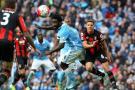 Manchester City golea al Bournemouth 5-1 y reafirma su liderato en la Liga Premier