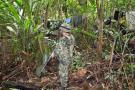 Militares de Santander trabajan en rescate de secuestrados en el Sur de Bolívar