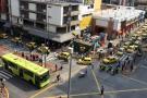 ¿Qué dijeron en redes sociales los bumangueses del paro de taxis?
