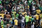 Hinchas del Bucaramanga no protagonizaron pelea en Medellín