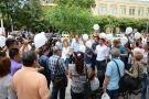 Periodistas y familiares de Diego D'Pablos y Carlos Melo pidieron su libertad