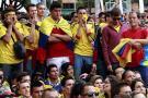 57 % de los colombianos prefiere ver los partidos de fútbol con amigos