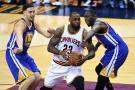 Cavaliers vencieron a Warriors y siguen en la pelea en la final de la NBA