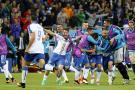 Italia derrota a Bélgica en la Eurocopa con goles de Giaccherini y Pelle