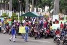 Finalizó protesta de 'mototaxistas' en Bucaramanga