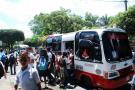 Transporte escolar se aseguró por un mes en Barrancabermeja
