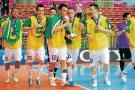 Brasil busca prolongar su hegemonía en el futsal